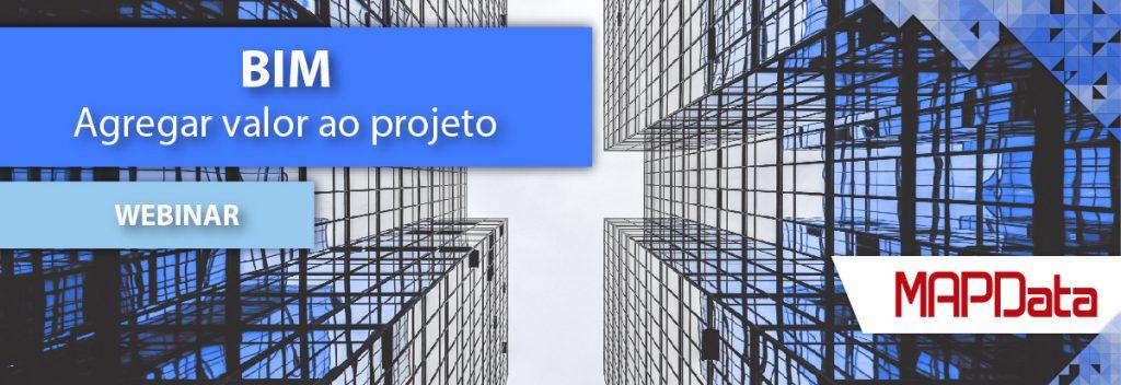 Webinar BIM Agregar Valor ao Projeto Banner