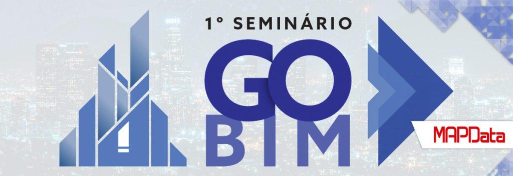 1º Seminário GO BIM Banner