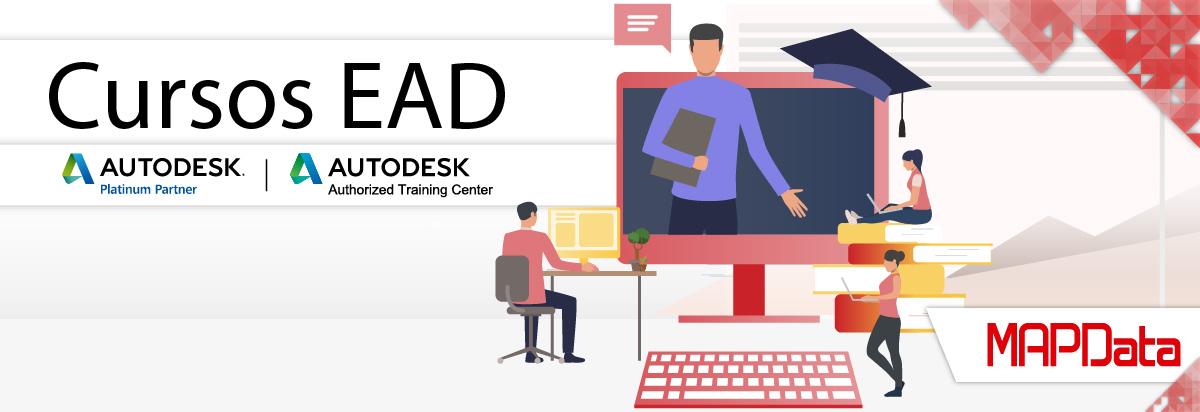 Conheça os Cursos EAD Autodesk da MAPData