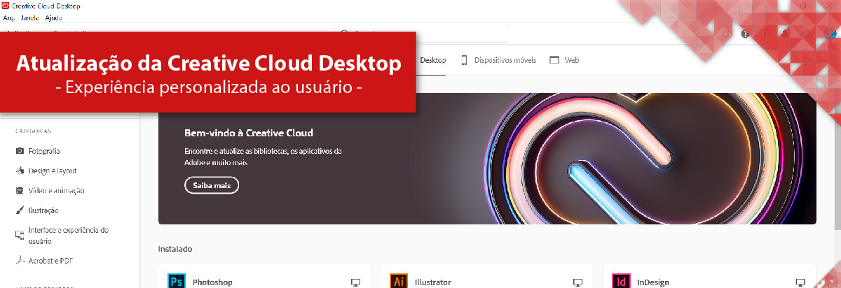 Adobe Creative Cloud para desktop