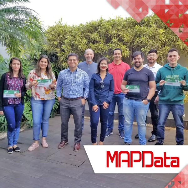 Premiação da Equipe Adobe da MAPData pela PARS