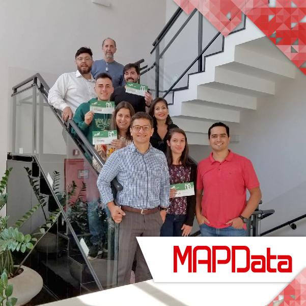 Premiação da Equipe de Adobe da MAPData pela PARS