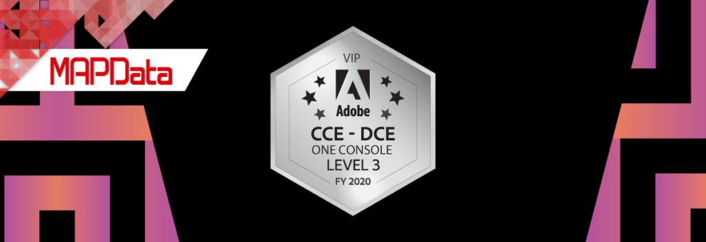 Certificação equipe Adobe da MAPData.