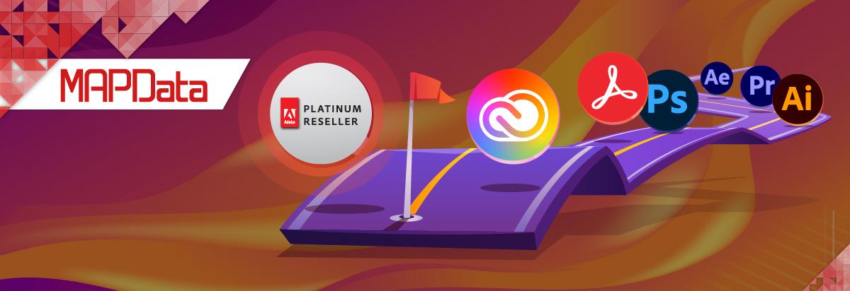 A MAPData agora é um parceiro Platinum da Adobe
