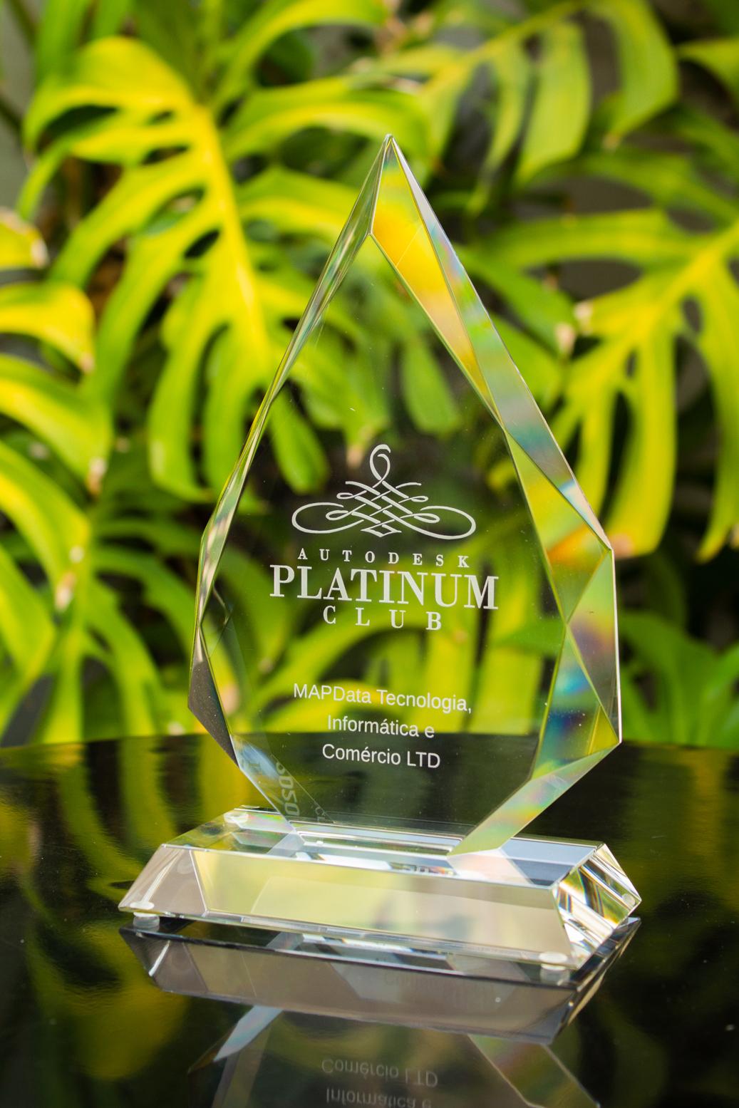 MAPData prestigiada mais uma vez com prêmio Autodesk