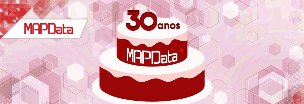 MAPData 30 anos