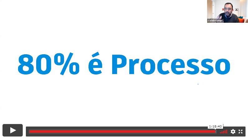 """Semana da Otimização com BIM: """"BIM: 80% é processo"""". Evandro Longo."""