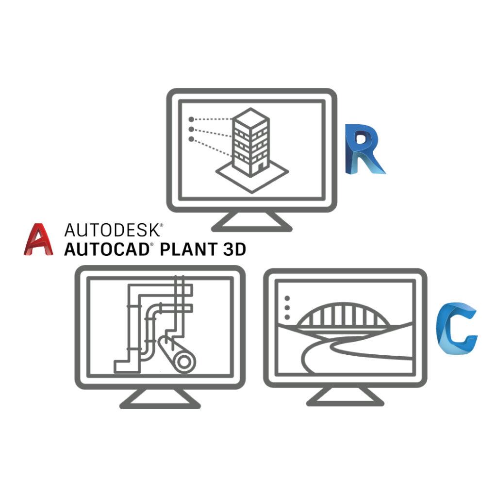 Autodesk BIM Collaborate Pro - Civil 3D, Revit e Plant 3D